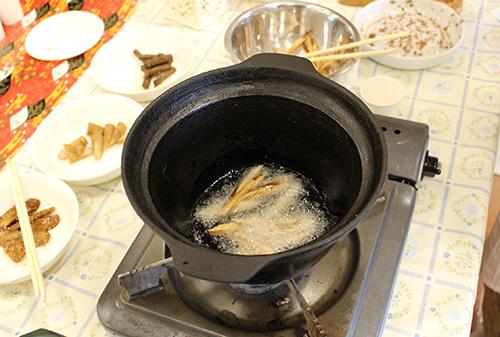 ごぼうの素揚げ レシピ