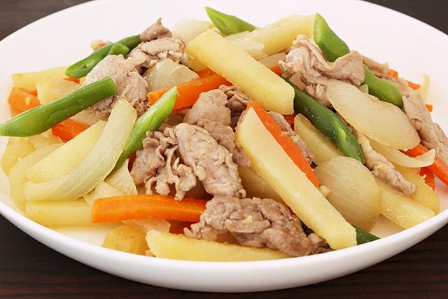 豚肉と野菜の香味炒め